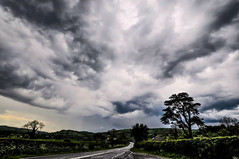 Storm Clouds (Dave McGlinchey) Tags: sky weather clouds nikon skies cloudy atmosphere thunderstorm convection storms atmospheric stormclouds cloudscapes instability optic d5000 cloudsstormssunsetssunrises