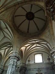Basílica de Santa María del Coro (baruchova) Tags: window column veins cupule basílicadesantamaríadelcoro