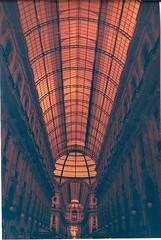 4 Milan Galleria (eleinthenorth) Tags: roadtrip love travel milan italy italie milano galleria galerie galleriavittorioemmanuele lomo pentax 35mm redscale argentique