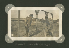 a2014_0020_3_4_04_003_wetz_b_opt (SMU Central University Libraries) Tags: unitedstatesarmy soldiers basictraining men drills tactics americanexpeditionaryforces aef americantroops worldwar19141918 worldwar1 worldwari ww1