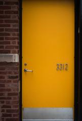 (279/366) Yellow Door, 3312 (CarusoPhoto) Tags: smc pentaxda 35mm f24 al smcpentaxda35mmf24al pentax ks2 john caruso carusophoto photo day project 365 366 yellow door diffused light beautiful mundane banal everyday ordinary