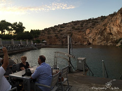 IMG_7421 (by_Stella) Tags: athens greece travel travelling traveling keeptravelling enjoy world europe athena lake hobby love vouliagmeni swim swimming cat ninelives kitty streetcat cats food foodie greekfood greek summer summernight