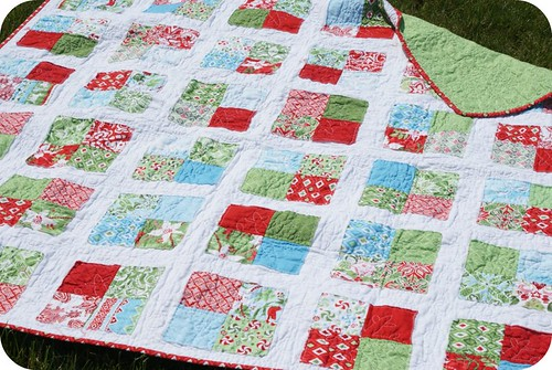 my synchronized squares quilt.