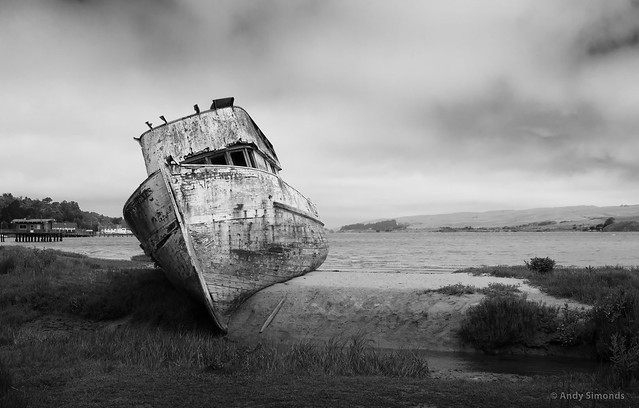 Point Reyes Beached Boat