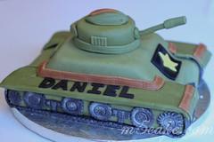 Military Tank Cake - 13