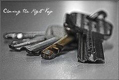 Choosing The Right Key-Explored 2011-06-15   #307 (tamahaji) Tags: keys key right conceptual