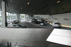 Abholbereich BMW Welt München