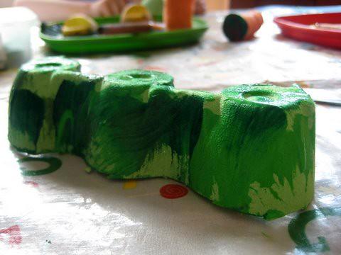 make a caterpillar model