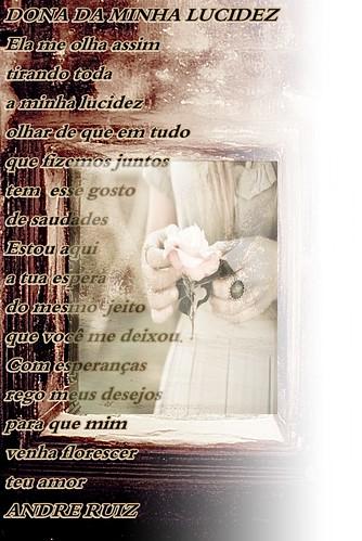 DONA DA MINHA LUCIDEZ by amigos do poeta