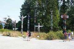 Totempfhle im Stanley Park (2) (lt_paris) Tags: vancouver stanleypark reise kanada totempfahl ltparis