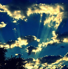 Let there be light (oneworldmj) Tags: light sky abstract clouds wonder hope rays awe theateamrallyingforaurelia continuingtosendyoulightloveandprayersaurelia whatdoyouseeinthissky