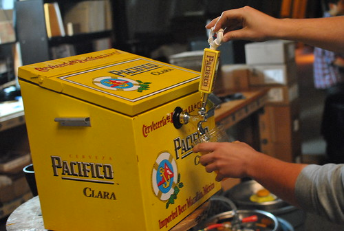 pacifico on tap!
