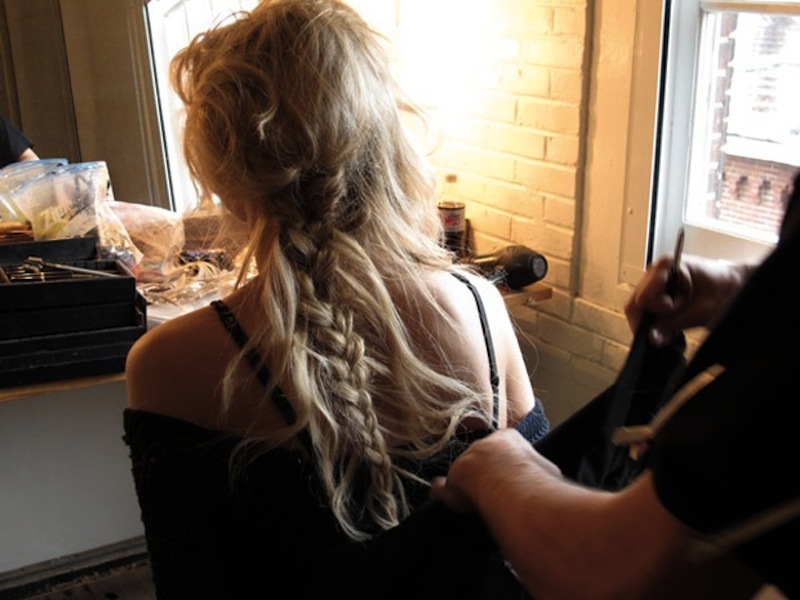 DIY hair - messy pixie braids 2