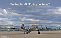 "B-17G ""Flying Fortress"" (Bob Stronck) Tags: vintage restored bomber flyingfortress moffettfield mountainviewca b17g nineonine heavybomber wwiiwarplanes ©rmstronck stronckphotocom collingsfoundationcollection"
