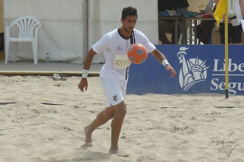 Futebol de Praia: Vitória 2-3 Sporting