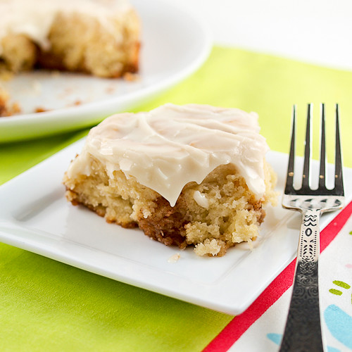 Sour Cream Cinnamon Roll Cake