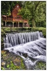 Hodgson Water Mill - 2 (Nikon66) Tags: mill nikon missouri orton d300 ozarkcounty hodgsonwatermill 1424mmf28nikkor copyright