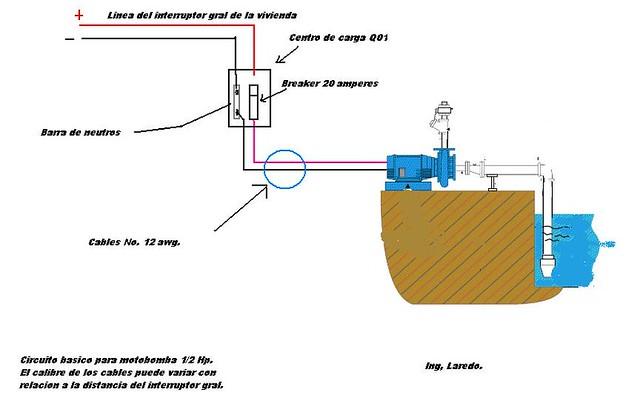 191 Como Realizar Una Instalacion Electrica De Una Bomba De