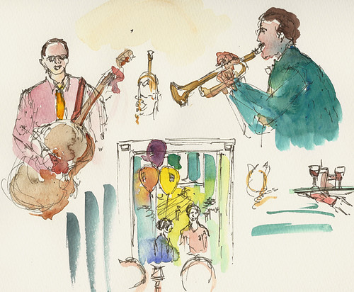 Jazz brunch at Commander's Palace, New Orleans, LA
