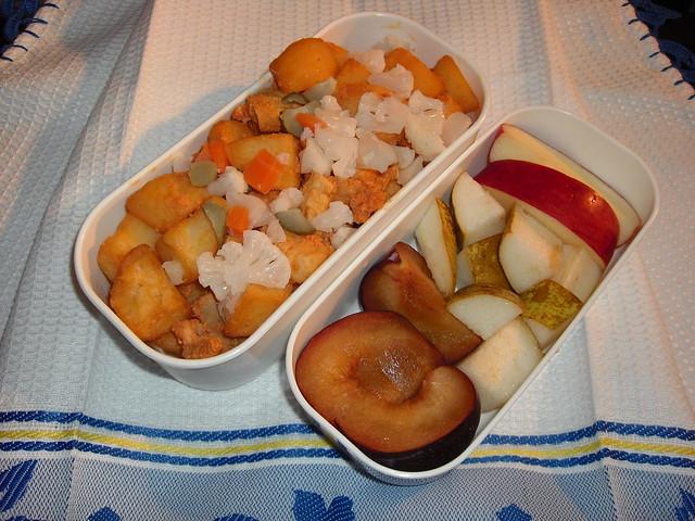 Carne à Portuguesa Bento