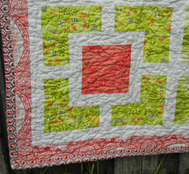 Alex's quilt - close up #1