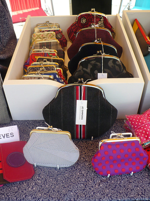 My stall at The Cally Fest - purses