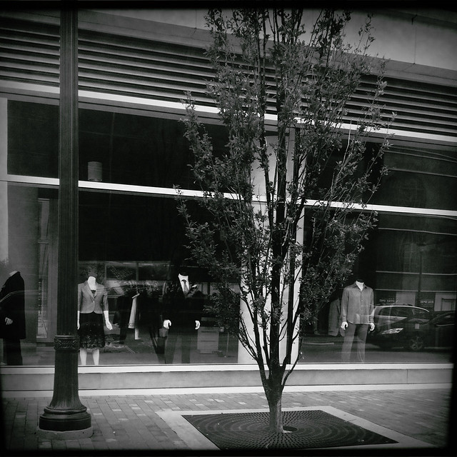 Atlantic Station Sidewalk Scene