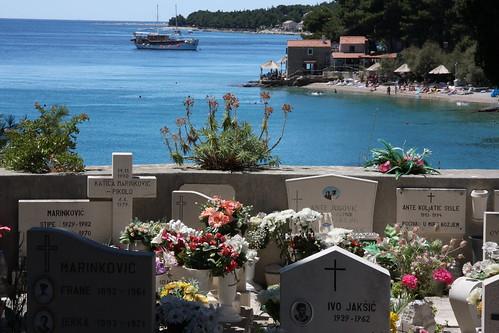 Graveyard, Isle of Brac, Croatia 2011