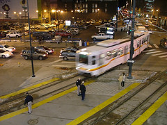Light rail in Denver. Photo CC licensed by Jeffrey Beall.