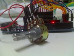 Potenciômetro 10k com Arduino