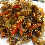 "Tea Leaf Salad <a style=""margin-left:10px; font-size:0.8em;"" href=""http://www.flickr.com/photos/14315427@N00/6921029934/"" target=""_blank"">@flickr</a>"