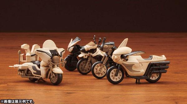 WOODELIX Kamen Rider - Rider Machine 假面騎士迷你機車食玩