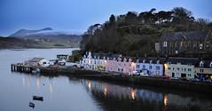 Isle of Skye , Portree, Hafen, Schottland,