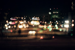 """it's better to burn out (jimmay bones) Tags: la losangeles nikon bokeh fm2"