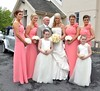Karen Byrne, her father, and bridesmaids The wedding of Irish footballer Glenn Whelan to Karen Byrne held at St. Philomena's Church in Palmerstown Dublin, Ireland