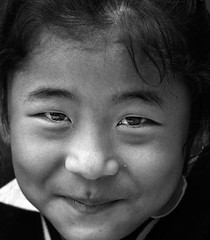 Rinchenpong_April_2014_238 (Satyaki Basu) Tags: travel school portrait people india west girl smile kids canon uniform indian f28 bnw sikkim t3i 1755 600d rinchenpong kaluk