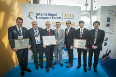 ITF 2014 Award winners