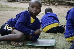 A lezione in Tanzania (Isola di Bumbire)