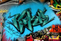 graffiti (wojofoto) Tags: amsterdam graffiti wojofoto hof amsterdamsebrug flevopark nederland netherland holland wolfgangjosten