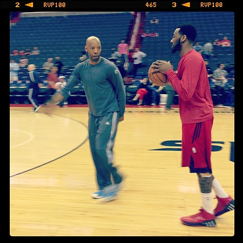 Instructional Sam Cassell & John Wall. #Wizards #dcRising