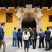 Ganadores de concurso de redes sociales visitan Palacio de Torre Tagle