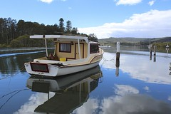 Reflections... (ImagesByLin) Tags: lake canon reflections boats bay boat australia nsw canoneos650d