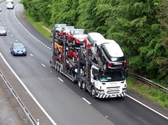 Stobart Automotive WX55 CXF  Scania P420 (Barrytaxi) Tags: car transport automotive eddie transporter eddiestobart