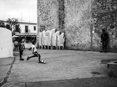Penalty (DanieleS.) Tags: photo photography shot wow amazing cool great good dannyboy ilovedannyboy daniele street kids people play playing football formentera bw mono monochrome blackwhite
