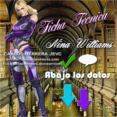 Blend Ficha Nina Williams Neotaku (CarlosHerreraJevc) Tags: ninawilliams newspaper fanartsjevc jevcupeditions 2016 tekken fandom photoshop jevcupeditions october01 neotaku hd altadefinicin blends
