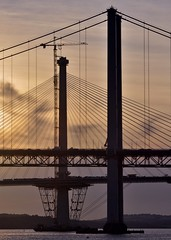 Forth Bridges Sunset (robert55012) Tags: scotland forth bridge queensferry sunset
