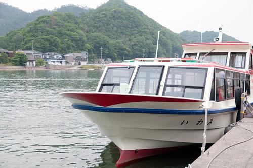 島めぐり遊覧船