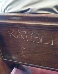 KATSU (S C R A T C H I E S) Tags: nyc graffiti katsu btm