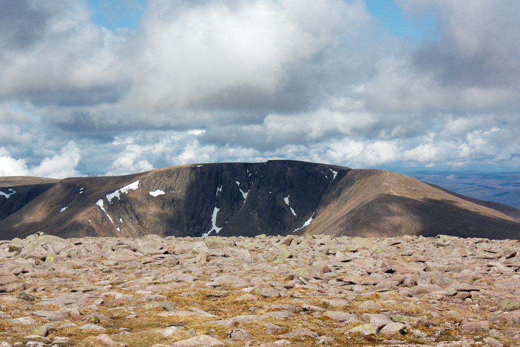 Braeriach from MacDui
