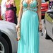 Claudine Palmer at the The Wedding of Pippa O'Connor to TV Presenter Brian Ormond held at St. Patrick's Church in Wicklow